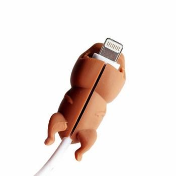 Nút gắn bảo vệ dây sạc hình thú
