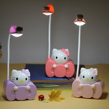 Đèn ngủ hello kitty 2in1