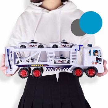 Xe đồ chơi chở xe ô tô cho bé