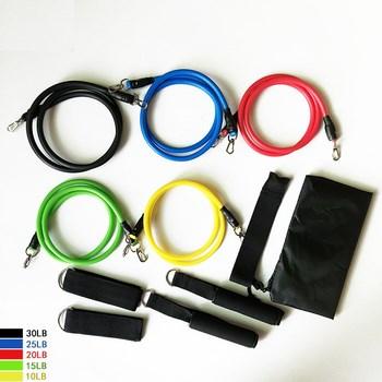 Bộ dây kéo 11 chi tiết tập thể dục
