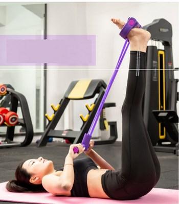 Dụng cụ tập thể dục đa năng (4 dây có bao bì)