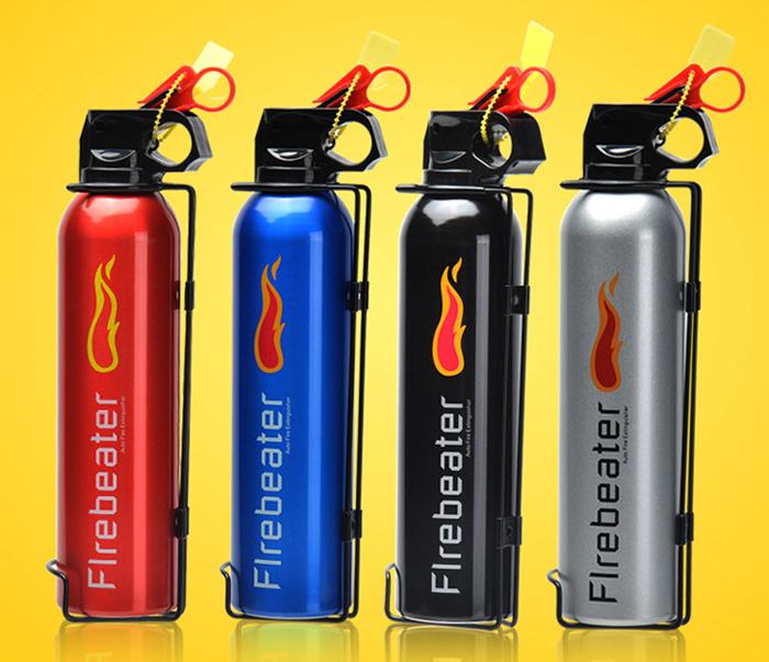 Bình chữa cháy mini dùng cho ô tô Flamebeater bột ABC