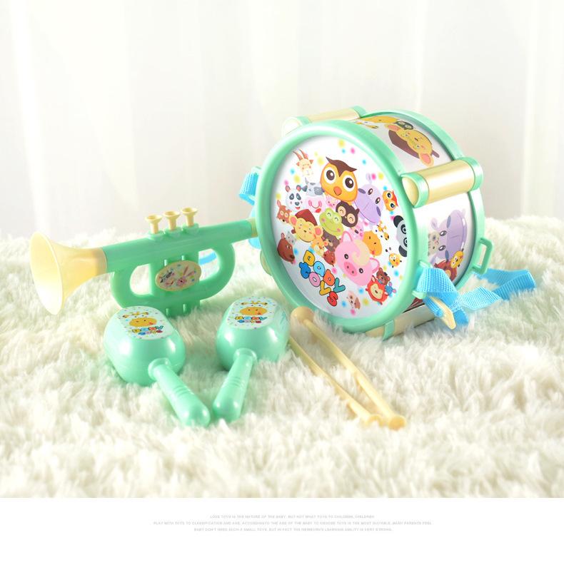Bộ đồ chơi trống kèn cho bé