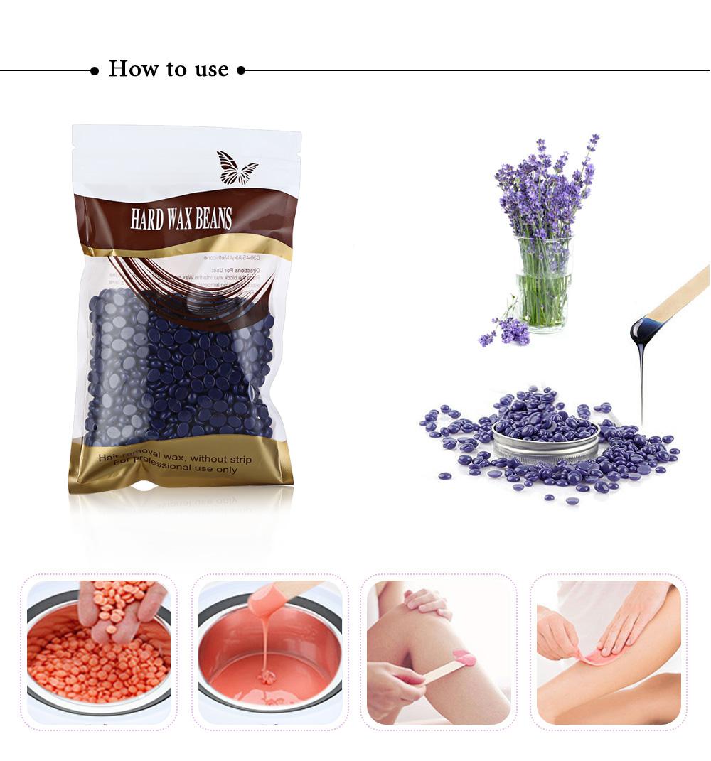 Sáp wax lông nóng hạt đậu 100g