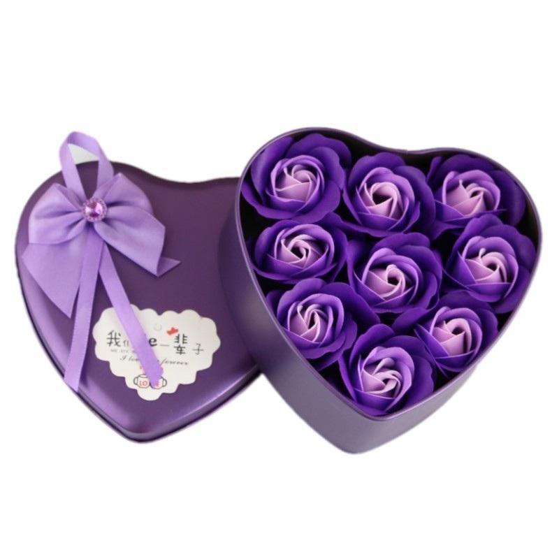 Hộp quà 9 bông hồng