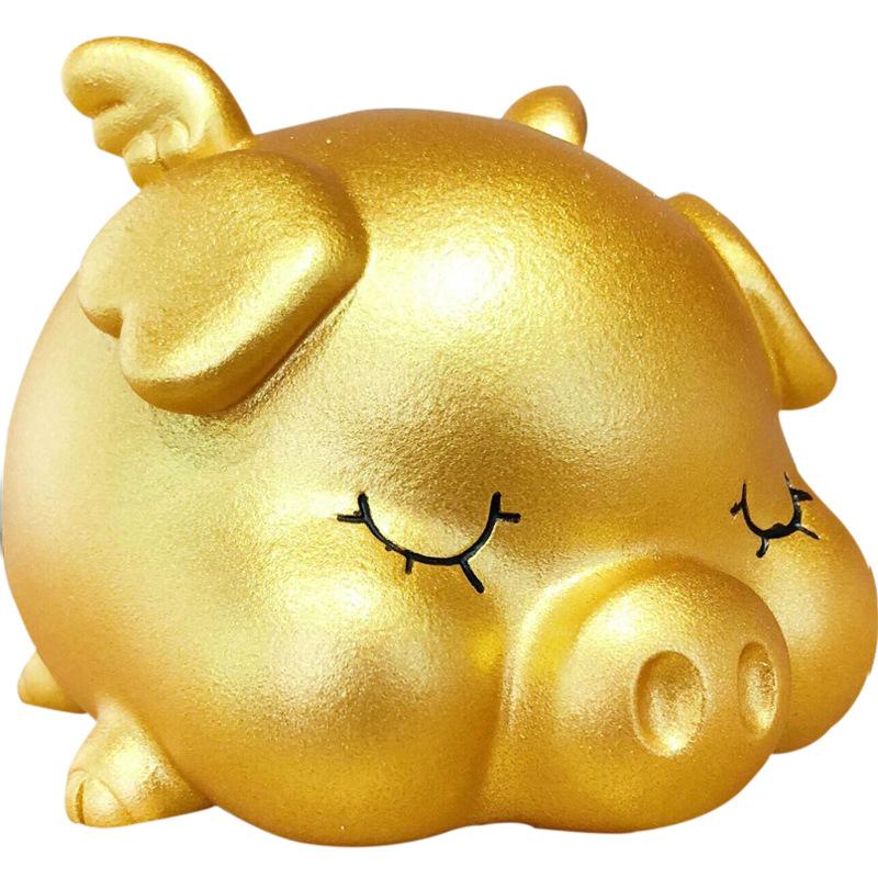 Heo vàng bỏ tiền tiếp kiệm