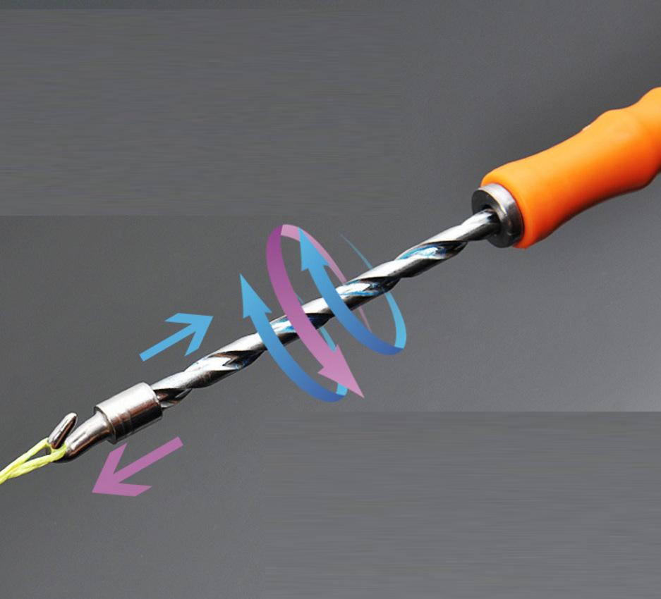 Thanh móc buộc xoắn thép