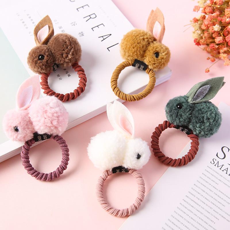 Cột tóc hình thỏ