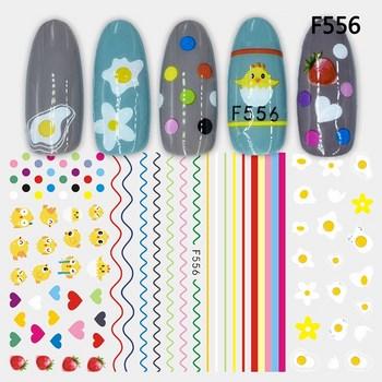Sticker dán móng tay F556