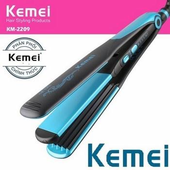 Máy kẹp tóc 2in1 Kemei Km-2209