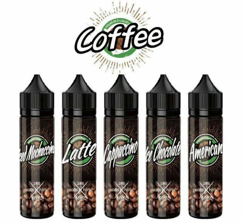 Tinh dầu thuốc la điện tử mùi Cafe (nhiều loại)