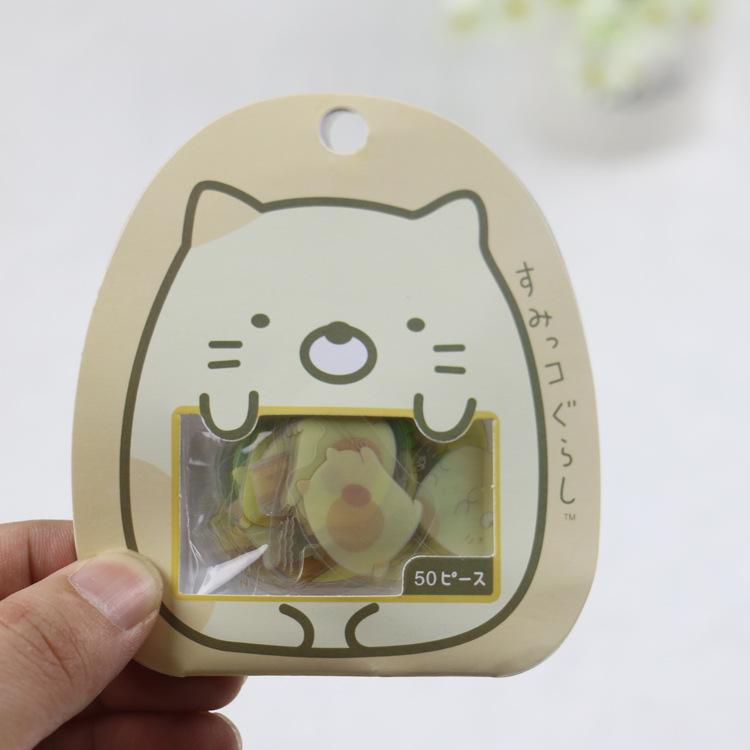 Combo 50 nhãn dán sticker hình gấu dễ thương