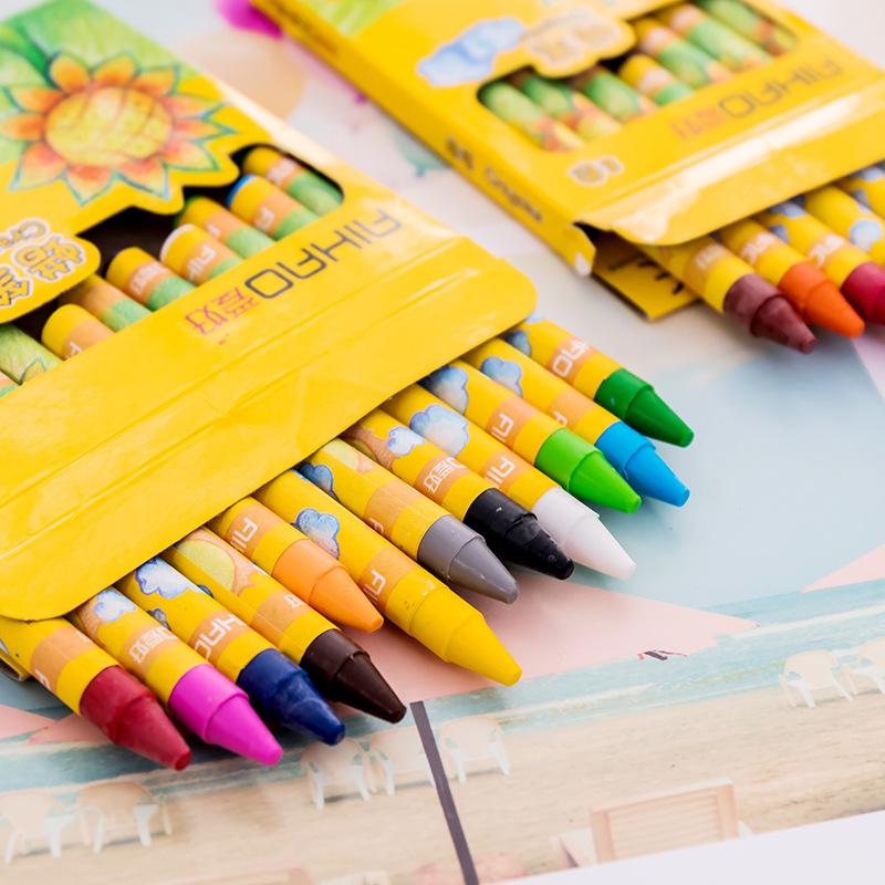 Bộ 12 bút sáp màu cho bé