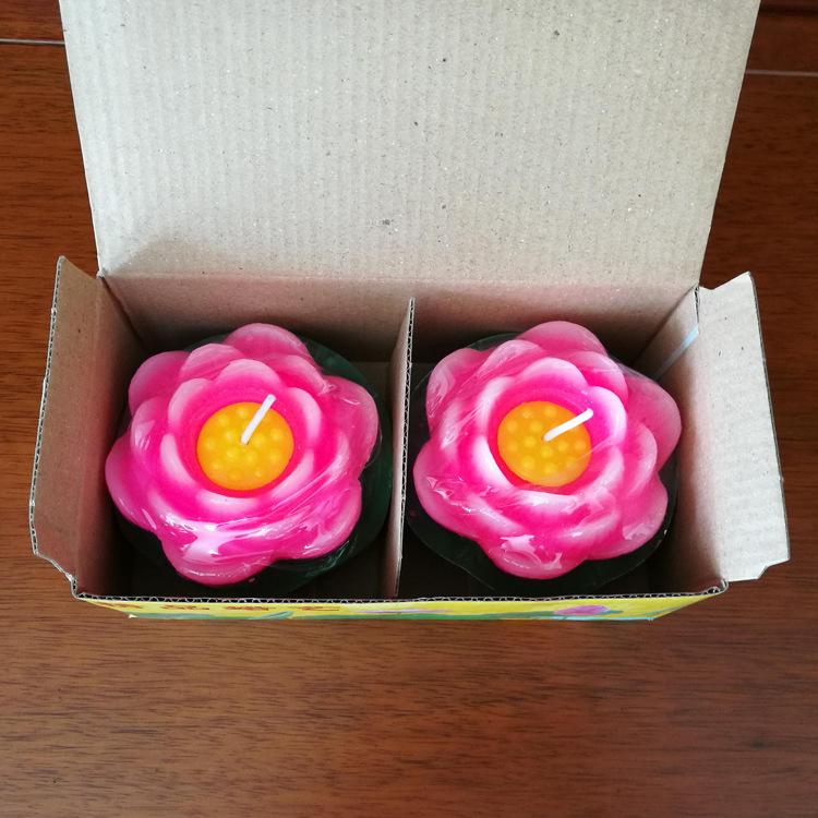 Combo 2 nến hình hoa sen 9.5cm