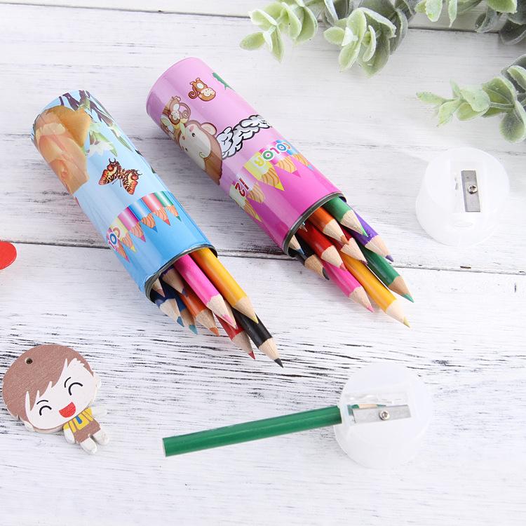 Combo 12 bút chì màu cho bé