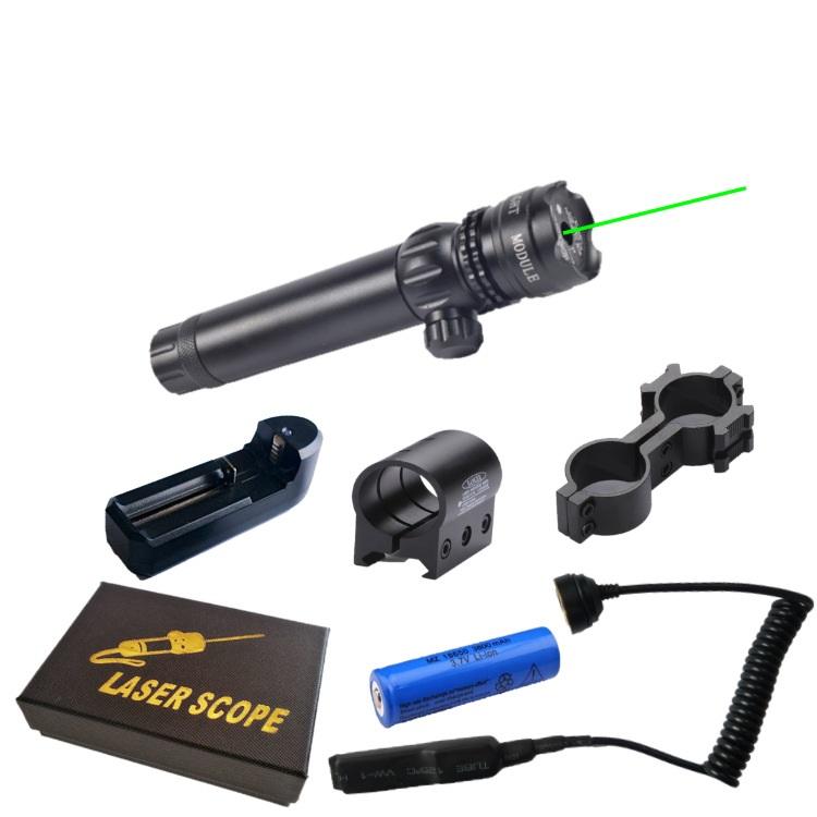 Đèn laser scope chỉnh tia màu đó và xanh