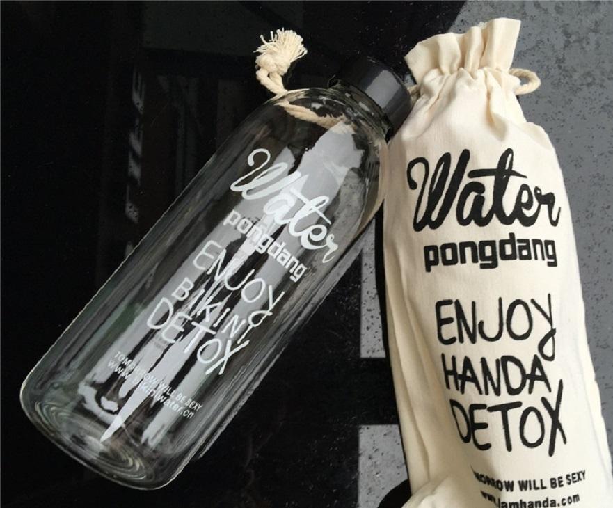 Bình được nước detox 600 ml (kèm túi)