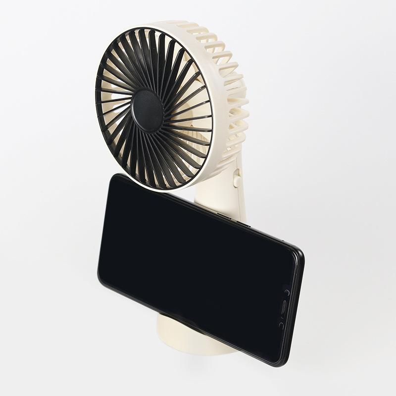 Quạt mini để bàn có kệ để điện thoại