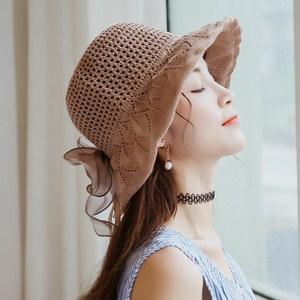 Mũ đan có nơ Hàn Quốc