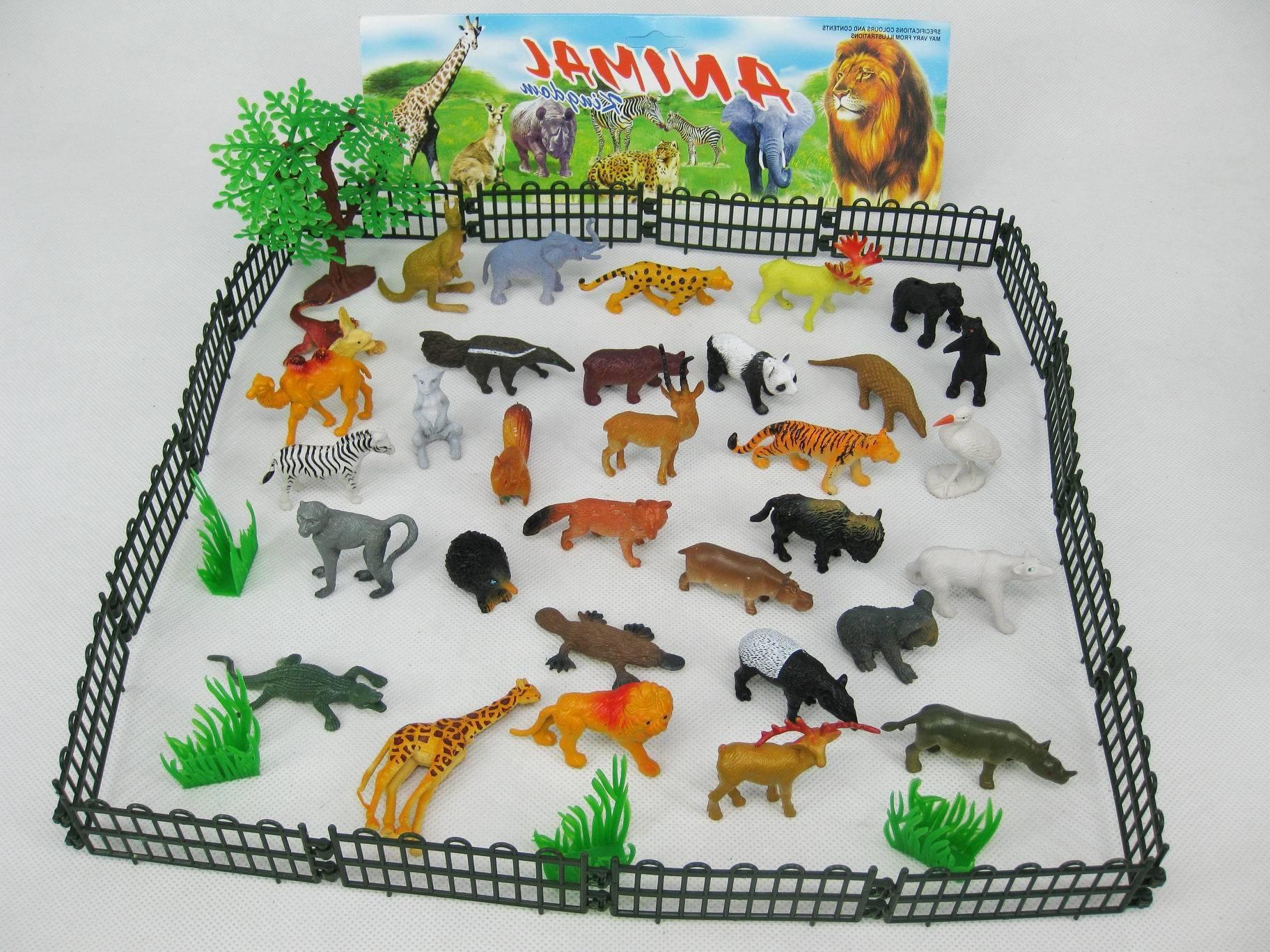 Đồ chơi động vật hoang dã cho bé
