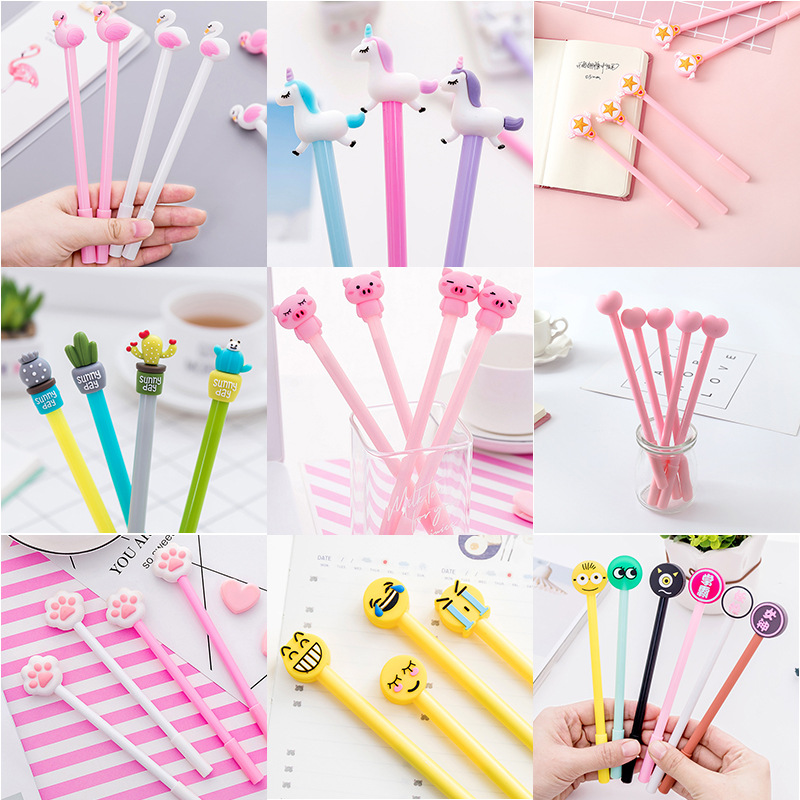 Bút bi hình heo hồng
