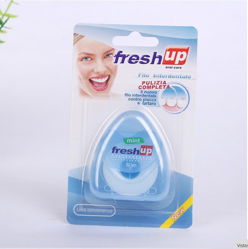 Cuộn chỉ xỉa răng Fresh up 50m