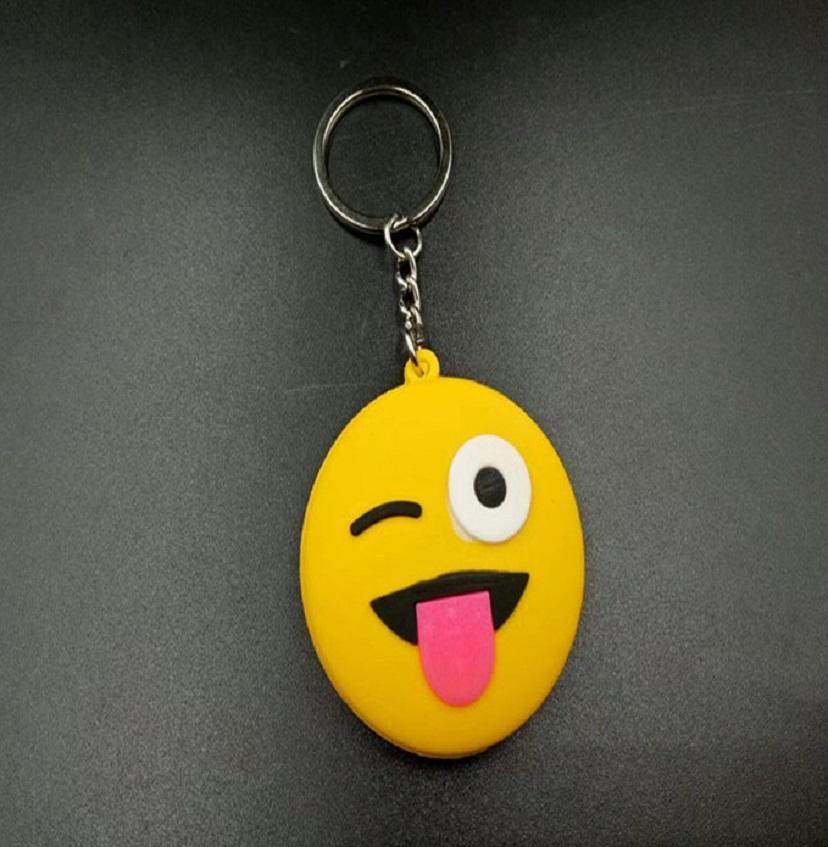 Móc khóa hình mặt cười