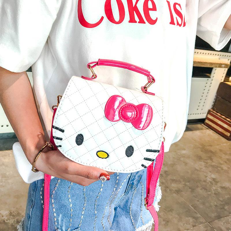 Túi xách hình mèo hello kitty