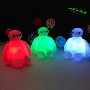 Đèn ngủ nhiều màu hình Baymax