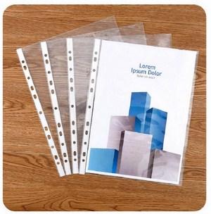 Combo 100 túi nilong trong đựng giấy 11 lỗ