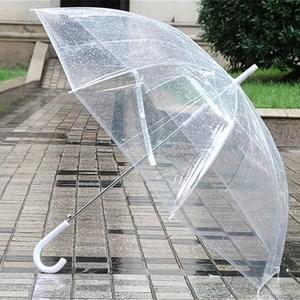 Dù che mưa trong suốt