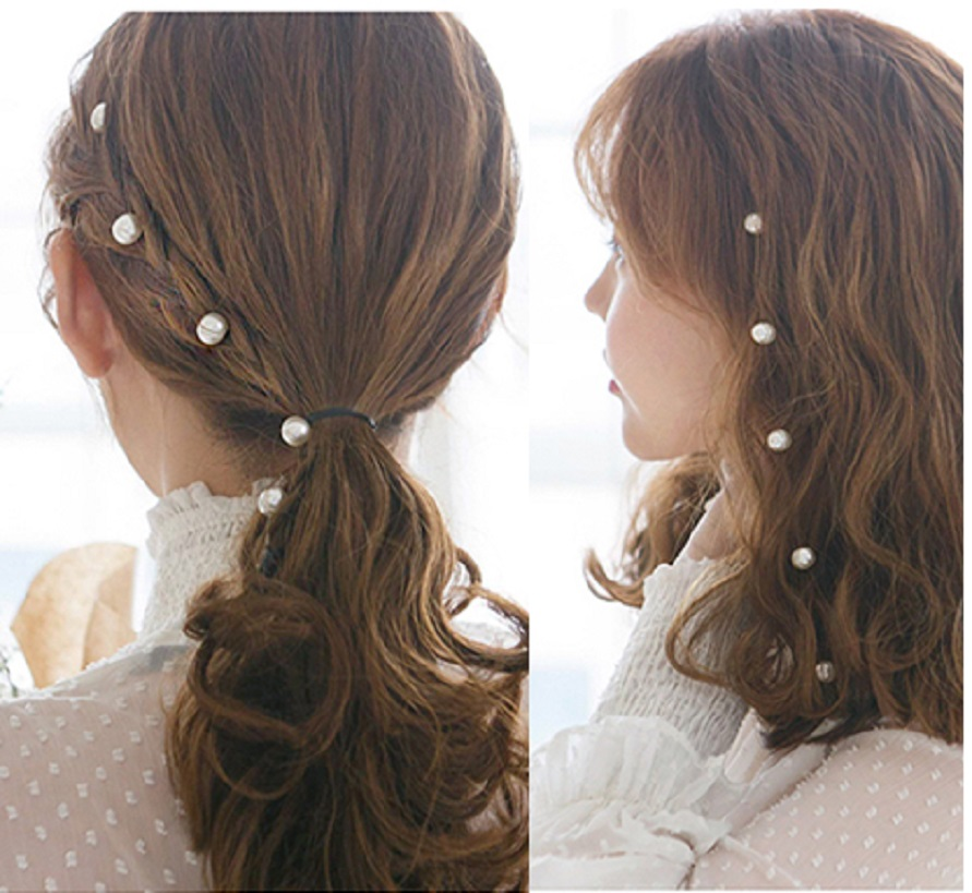Phụ kiện tóc đính ngọc có kẹp
