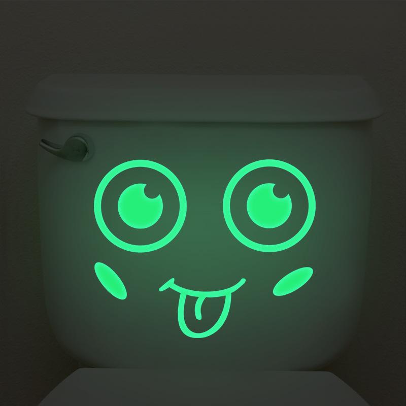 Miếng dán vệ sinh dạ quang mặt cười