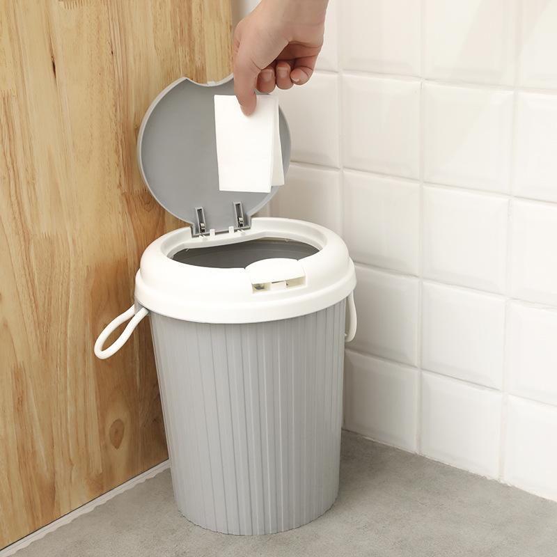 Thùng rác nhựa E538 ( loại lớn 2 màu)