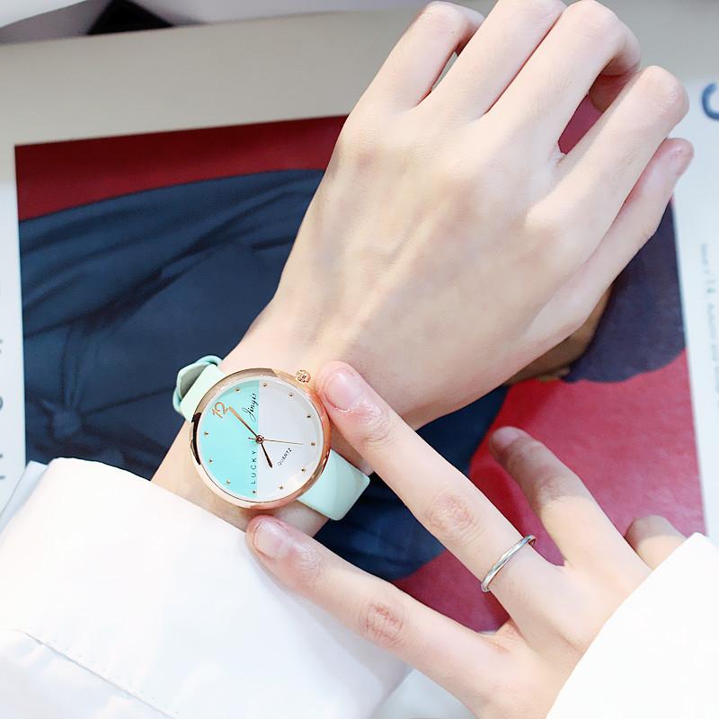 Đồng hồ nữ lucky (nhiều màu)