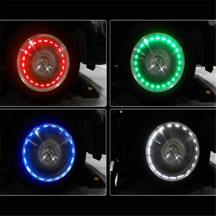 Combo 2 đèn led gắn bánh xe hơi