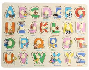 Bảng gỗ 26 chữ cái cho bé