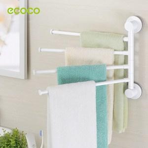 Móc dán tường treo khăn tắm 4 móc Ecoco