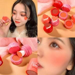 Má hồng kem Xixi trái tim 502