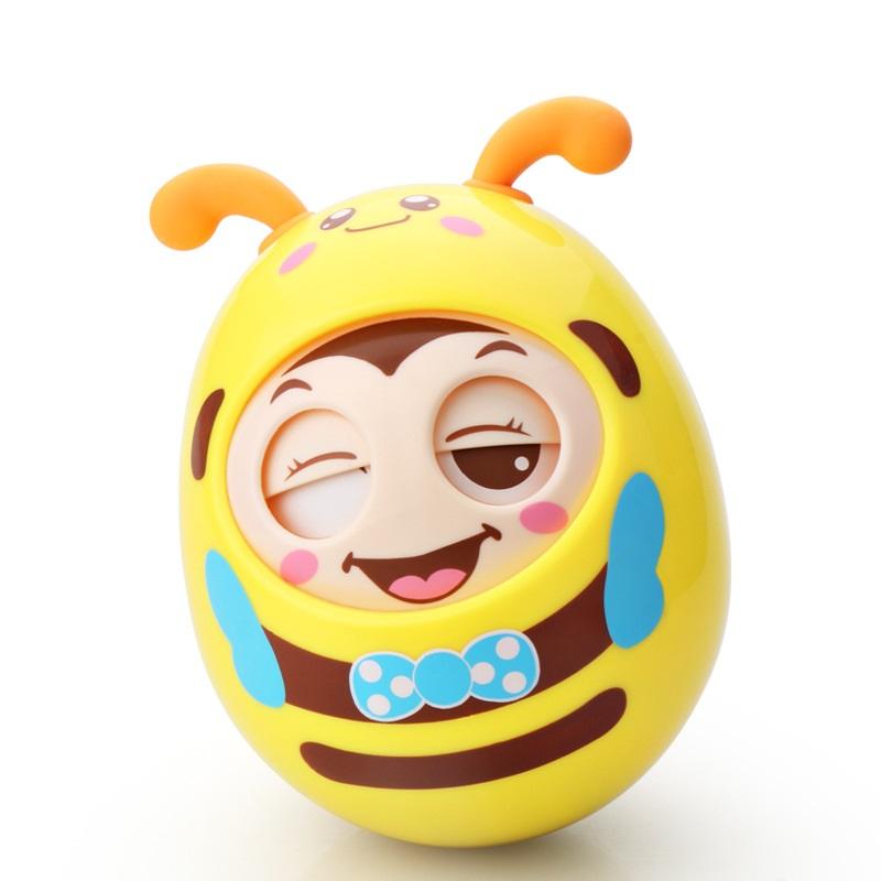 Đồ chơi trẻ em sơ sinh hình chú ong (3 màu)