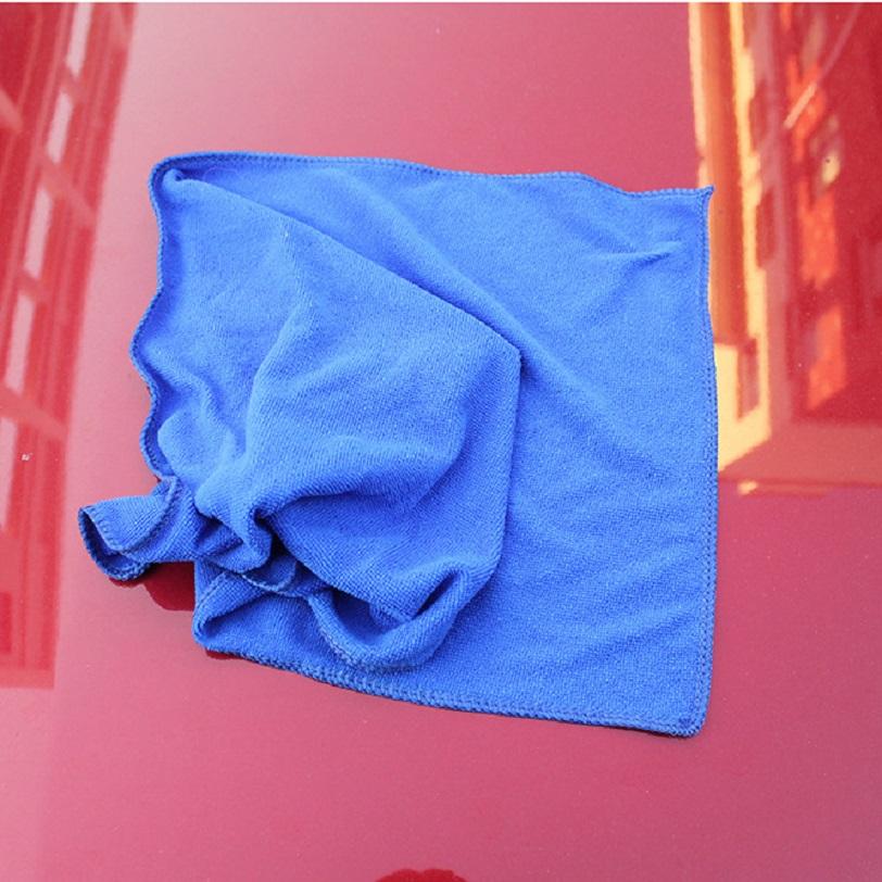 Khăn xanh lau xe siêu thấm 30x70cm