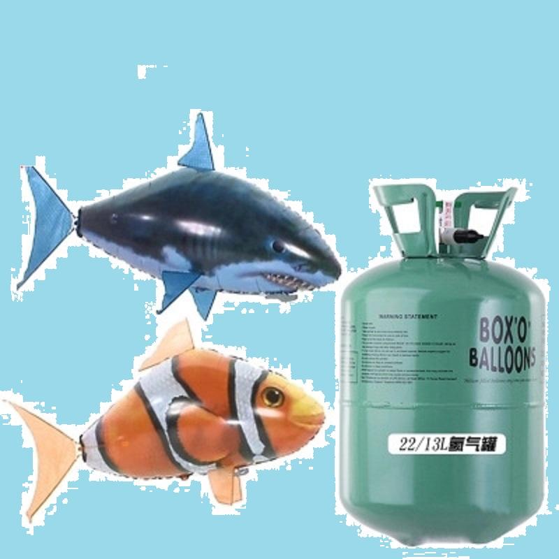 Đồ chơi cá mập bong bóng biết bay (2 màu)