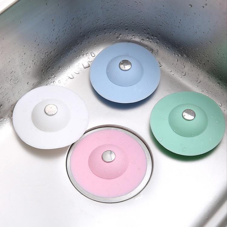Dụng cụ giữ nước bồn rửa chén có lỗ thoát (5 màu)