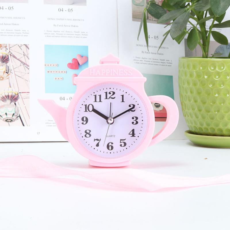 Đồng hồ để bàn hình bình nước (4 màu)