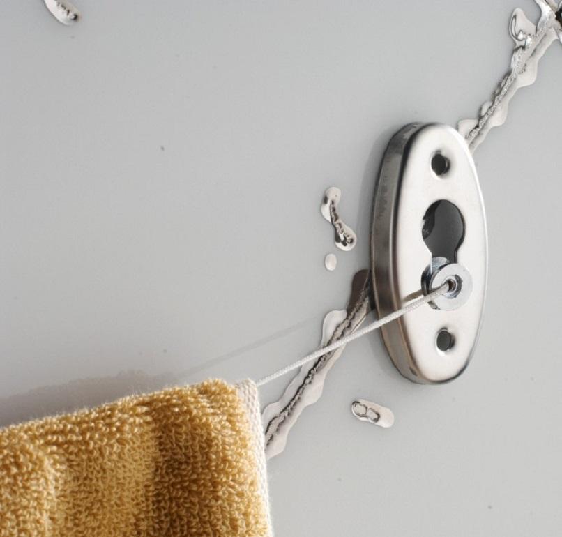 Dây phơi đồ phòng tắm thông minh