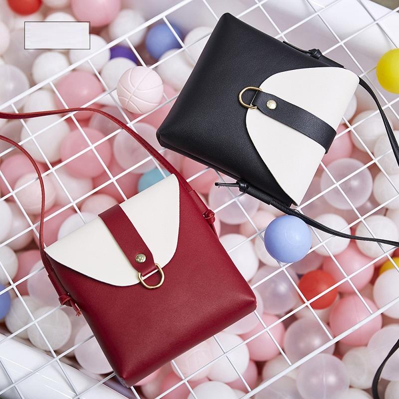 Túi da PU đeo vai nữ tính (5 màu)