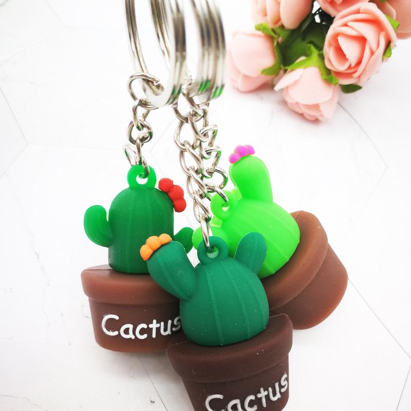 Móc khóa hình xương rồng cactus