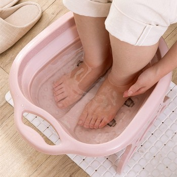 Chậu ngâm massage chân gấp gọn