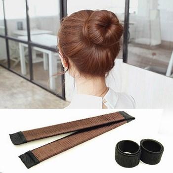 Dụng cụ băng đo búi tóc củ tỏi đa năng