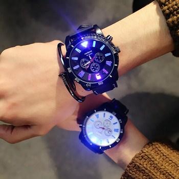 Đồng hồ nam dạ quang Candycat